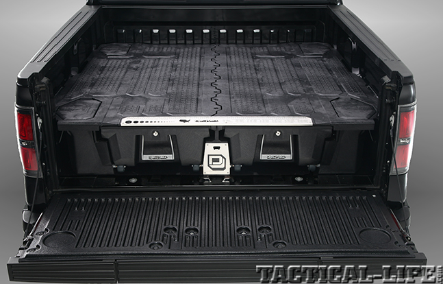 DECKED Truck Bed Storage System closed