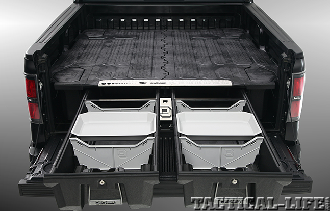 DECKED Truck Bed Storage System two drawers