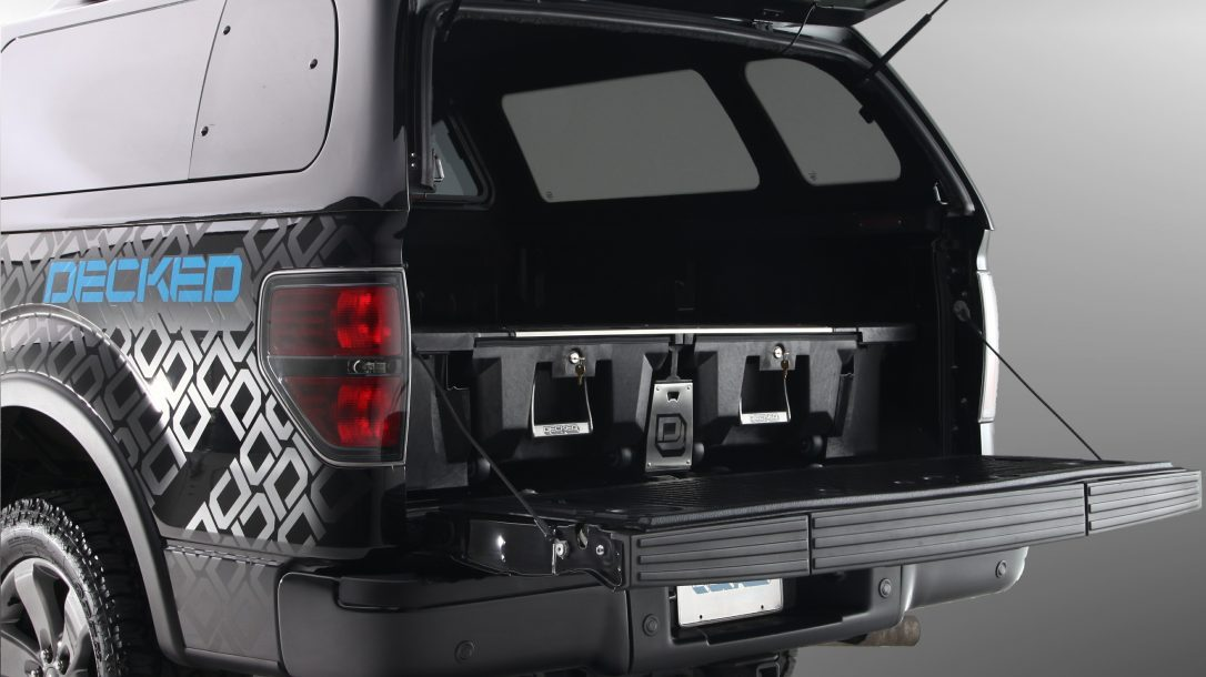 DECKED Truck Bed Storage System shell