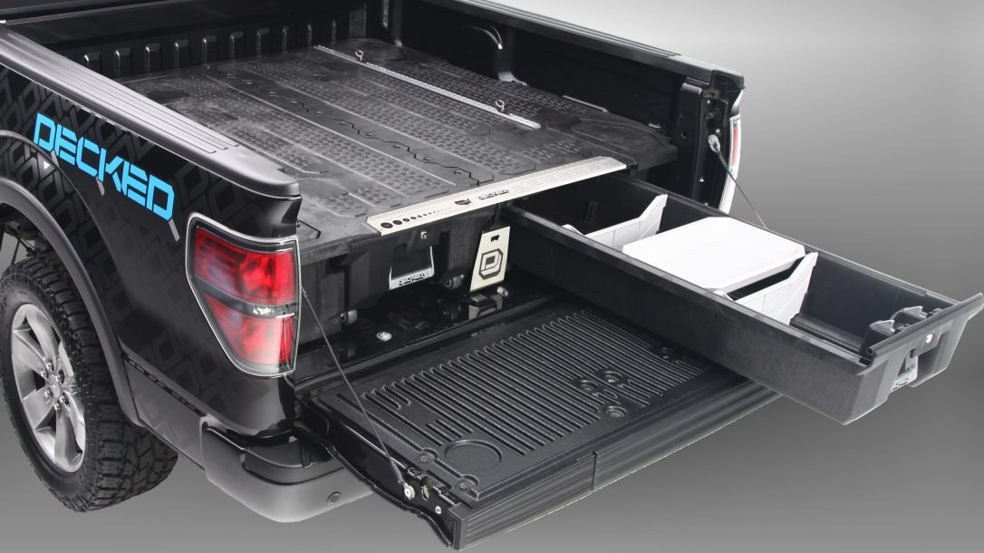 DECKED Truck Bed Storage System single drawer