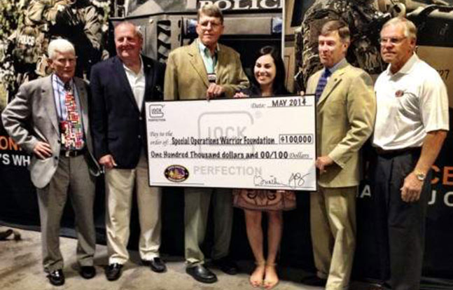 Glock Special Operations Warrior Foundation SOWF college scholarship