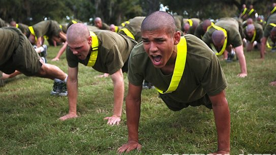 Marines Pushups