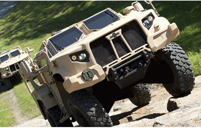 Oshkosh JLTV Joint Light Tactical Vehicle