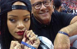Rihanna LAPD Foundation
