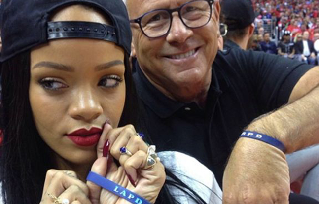 Rihanna LAPD Foundation