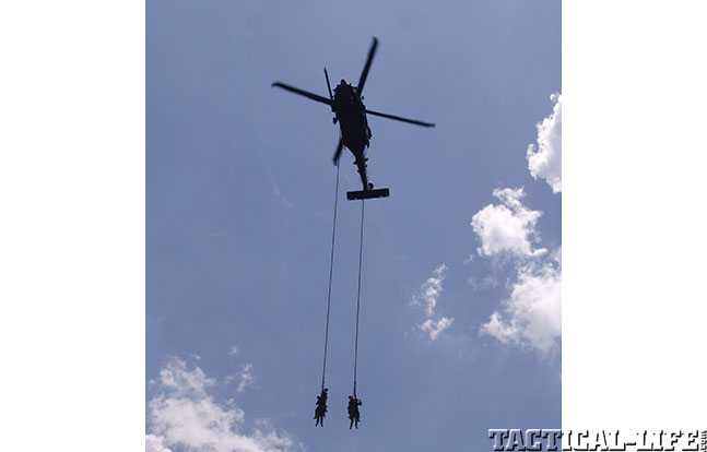 SOFIC 2014 helicopter drop