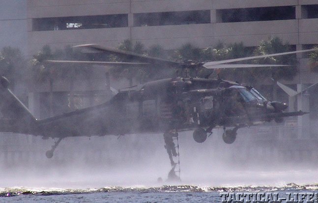 SOFIC 2014 helicopter water