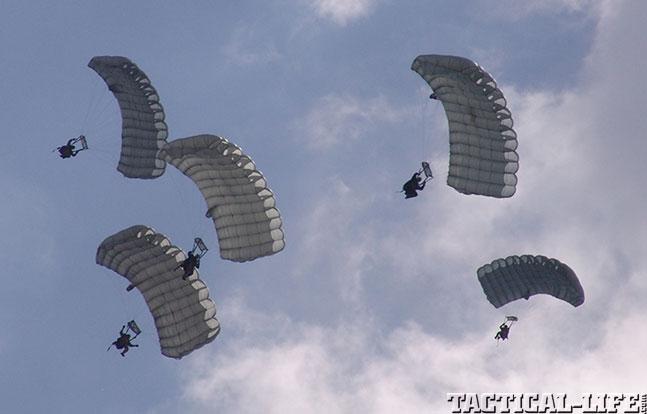 SOFIC 2014 parachutes
