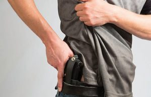 Uncle Mike IWB Tuckable Holster