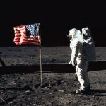 West Point Buzz Aldrin Flag