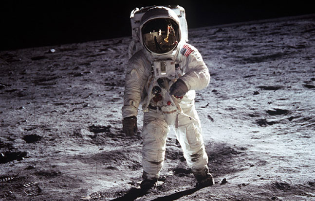 West Point Buzz Aldrin Moon