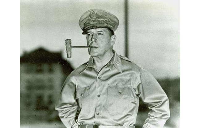 West Point Douglas MacArthur pipe