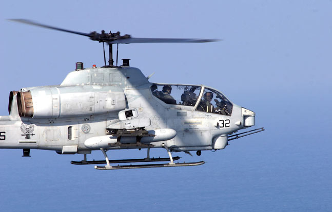 The USMC is upgrading its fleet of AH-1W attack helicopters.