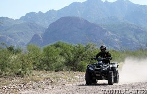 ATVs mountains lead