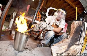 Bryan Bates welding