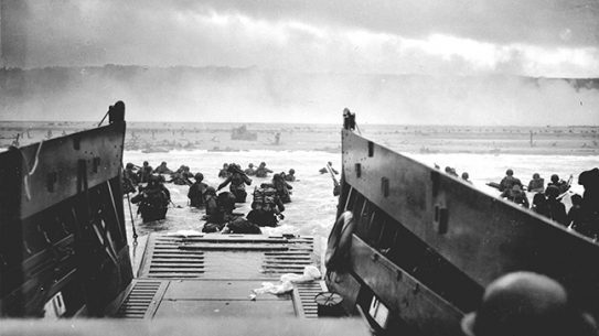 D-Day Omaha Beach lead