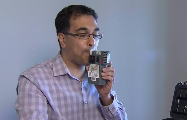 Dr. Raj Attariwala Cannabix Marijuana Breathalyzer