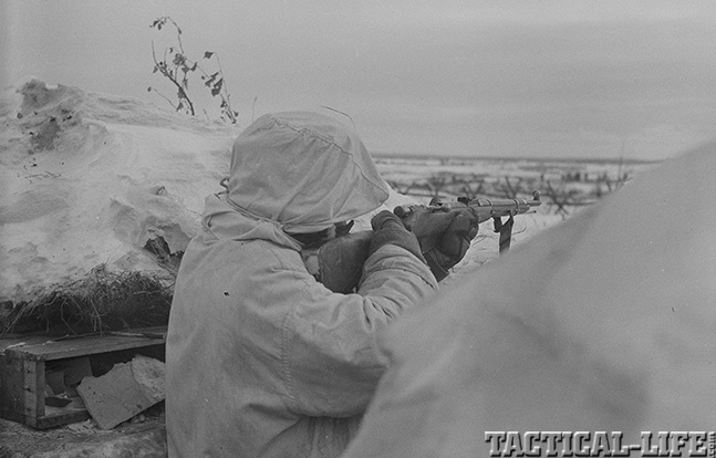 Finn rifle Nov. 1941
