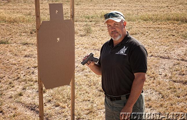 Glock 42 target