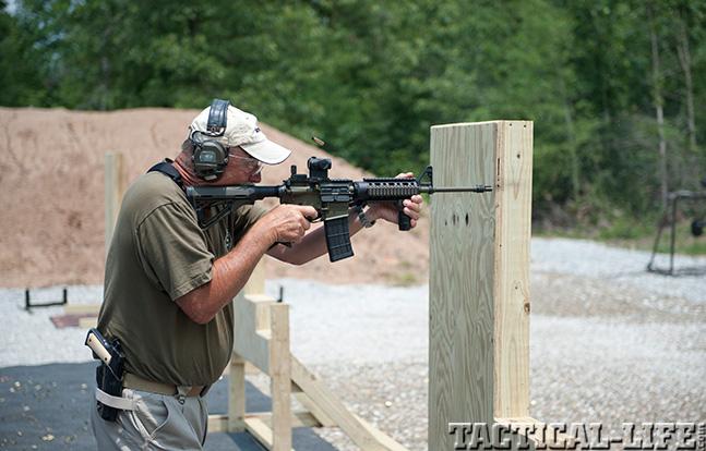 Ken Hackathorn training firing