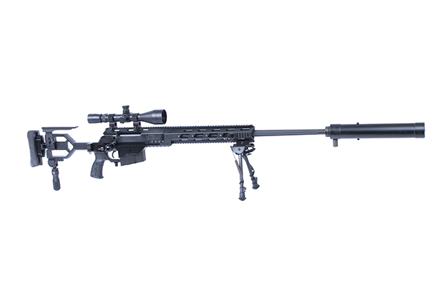 Israel Weapon Industries DAN .338 Bolt Action Sniper Rifle right