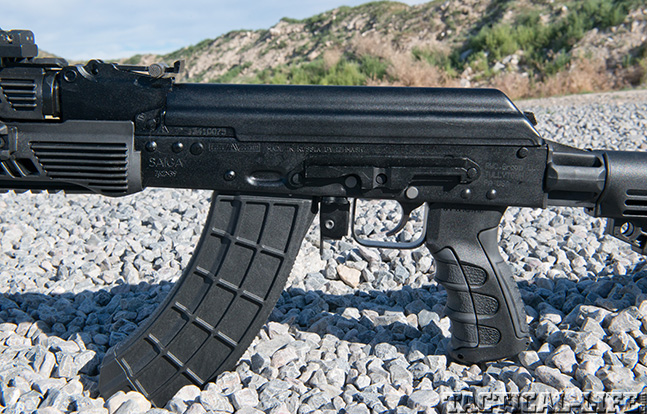 IS132SM Saiga receiver