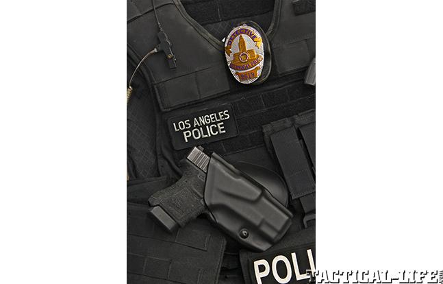 Los Angeles Police Department glock