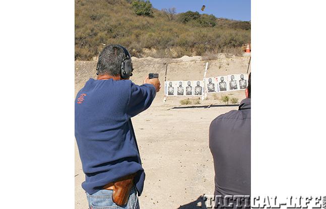 Los Angeles Police Department range