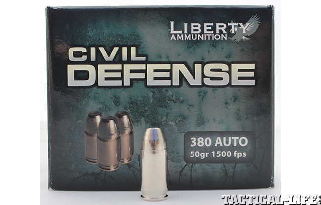 Liberty Civil Defense .380 load