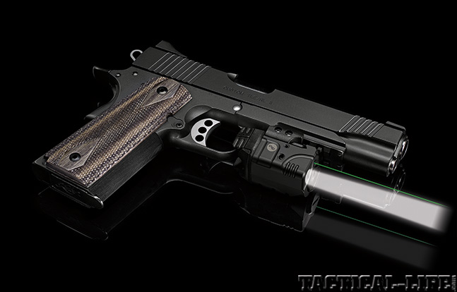 Lights and Lasers handgun