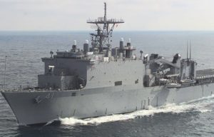 LSD 41 LXR Navy