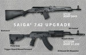 Concern Kalashnikov Saiga 7.62 Upgrade