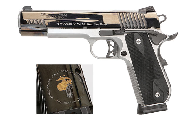Sig Sauer Commemorative Engraving gold 1911