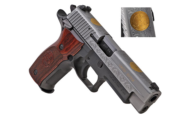 Sig Sauer Commemorative Engraving platinum