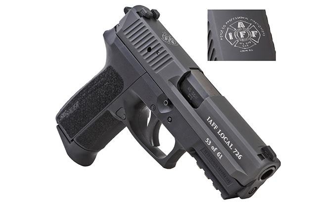 Sig Sauer Commemorative Engraving standard SP2022