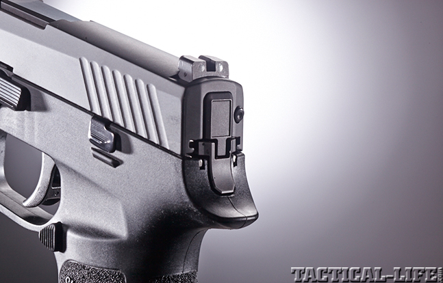 Sig Sauer P320 rear sights