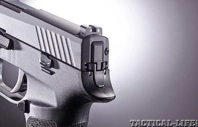 Sig Sauer P320 rear sights