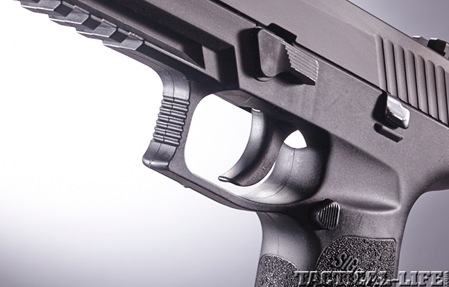 Sig Sauer P320 trigger