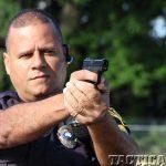 Smith & Wesson M&P Bodyguard 380 pistol aim