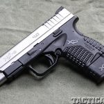 "Springfield Armory 4.0"" XD-S 9mm pistol left"