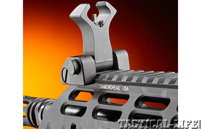 Stag Arms Model 3T-M rifle front sight