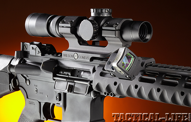 Stag Arms Model 3T-M rifle optics