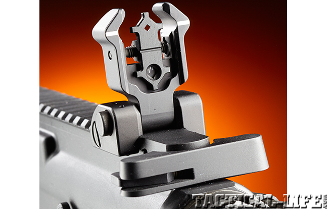 Stag Arms Model 3T-M rifle rear sight