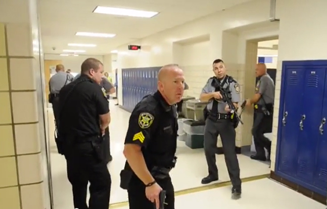 State College Police Department active shooter exercise