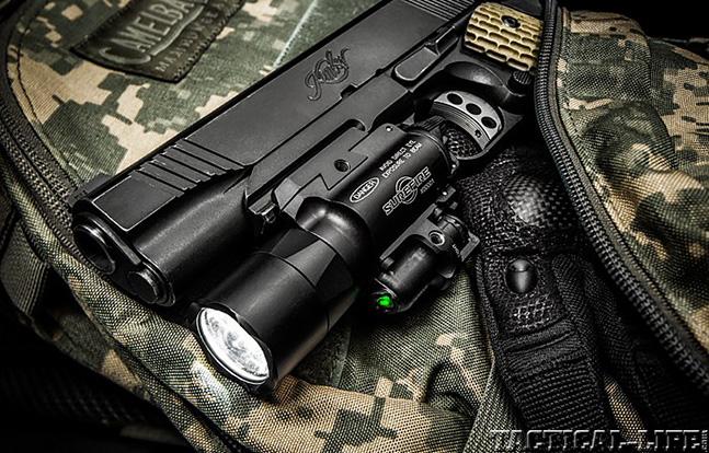 SureFire X400-GN Ultra green laser lead