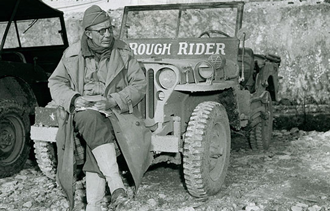Theodore Roosevelt Jr. lead D-day