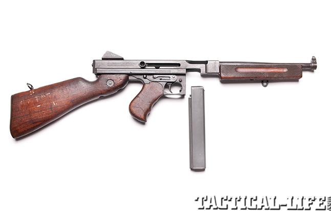 Thompson submachine gun right