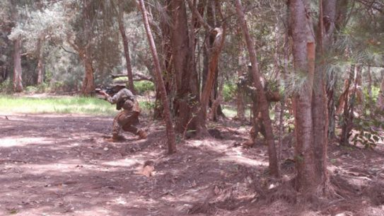 Tinita Taylor Jungle Operations Training Course Army