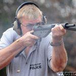 UK 9mm STEN firing