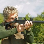 Walther Uzi .22 Rifle firing